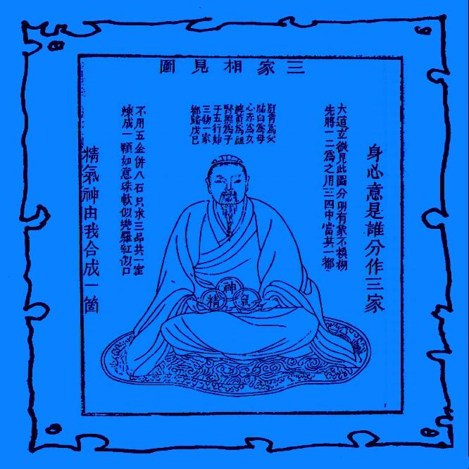 Chi, Ching Und Shen, Die 3 Schätze Des Dao. Kalligraphien